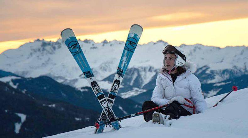 Unisex skis